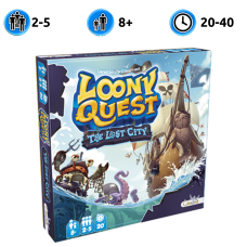 Loony Quest. The lost city (Луни Квест|доп.)
