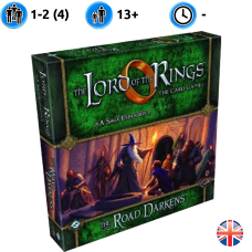 Lord of the Rings: the card game. The road darkens.