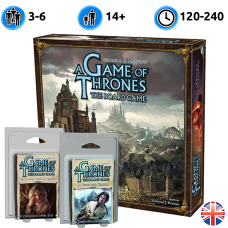 A Game of Thrones: The Board Game (Second Edition) + A Feast for Crows Expansion + A Dance with Dragons Expansion (Игра Престолов + дополнения)